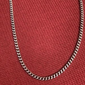 Jewelry - Sterling Silver Link Chain Necklace